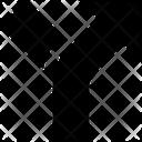 Split Arrow Direction Icon