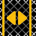 Open Split Arrow Icon
