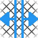 Split Arrows Arrow Icon
