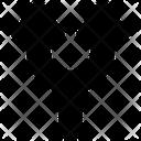 Arrow Split Branch Icon