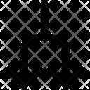 Split Arrows Line Icon