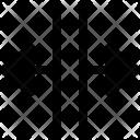 Open Split Arrows Icon