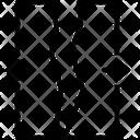 Split Divided Broken Icon