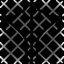Arrow Split Icon