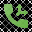 Split Call Phone Icon