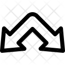 Split down Icon