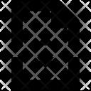 Split File Paper Icon