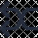 Connector Split Left Icon