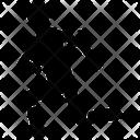 Split Lunge Icon