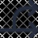 Split Right Icon