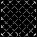 Split Screen Layout Icon