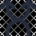 Split  Up Icon