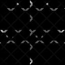 Split Four Square Icon