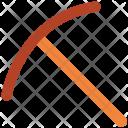 Splitting Axe Cutting Icon