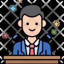 Spokesperson Male Icon