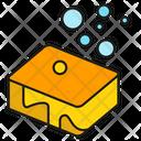 Sponge Bubble Clean Icon