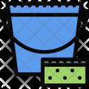 Sponge Bucket Plumber Icon