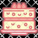 Sponge Cake Sponge Cake Icon
