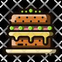 Sponge Cake Cake Pudding Icon