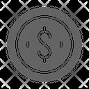 Sponsor Monetization Cent Icon