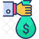 Investment Money Money Bag Icon