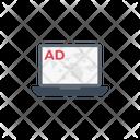 Ad Sponsor Laptop Icon