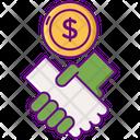 Sponsors Investor Money Giving Icon