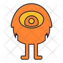 Monster Spooky Scary Icon