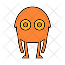 Monster Spooky Creature Icon