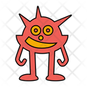 Monster Spooky Ghost Icon