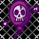 Spooky Balloon Icon
