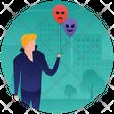 Spooky Balloons Icon