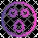 Spooky Emoticon Cute Emoji Icon