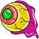 Spooky Eyeball Magic Eye Evil Eye Icon