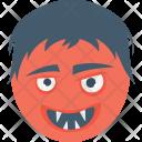 Spooky Face Icon