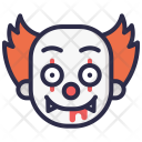 Clown Scary Horror Icon
