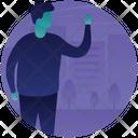 Spooky Man Icon