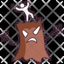 Spooky Tree Scary Tree Haunted Tree Icon