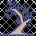 Spooky Tree Dead Tree Leafless Tree Icon