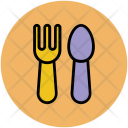 Spoon Fork Baby Icon