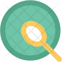 Spoon Plate Eating Icon