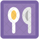 Spoon Utensil Knife Icon