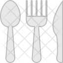 Spoon Knife Cutlery Icon