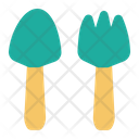 Spoon And Fork Home Room Kitchen Icon