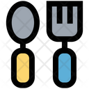 Spoon And Fork Feed Fork Icon