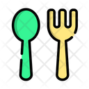Spoon Fork Food Icon