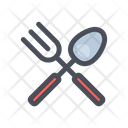 Spoon And Fork Fork Spoon Icon