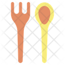 Ispoon Fork Spoon Fork Spoon Icon