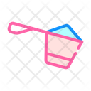 Protein Spoon Color Icon