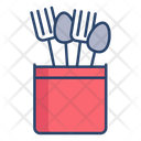 Spoon Stand Icon